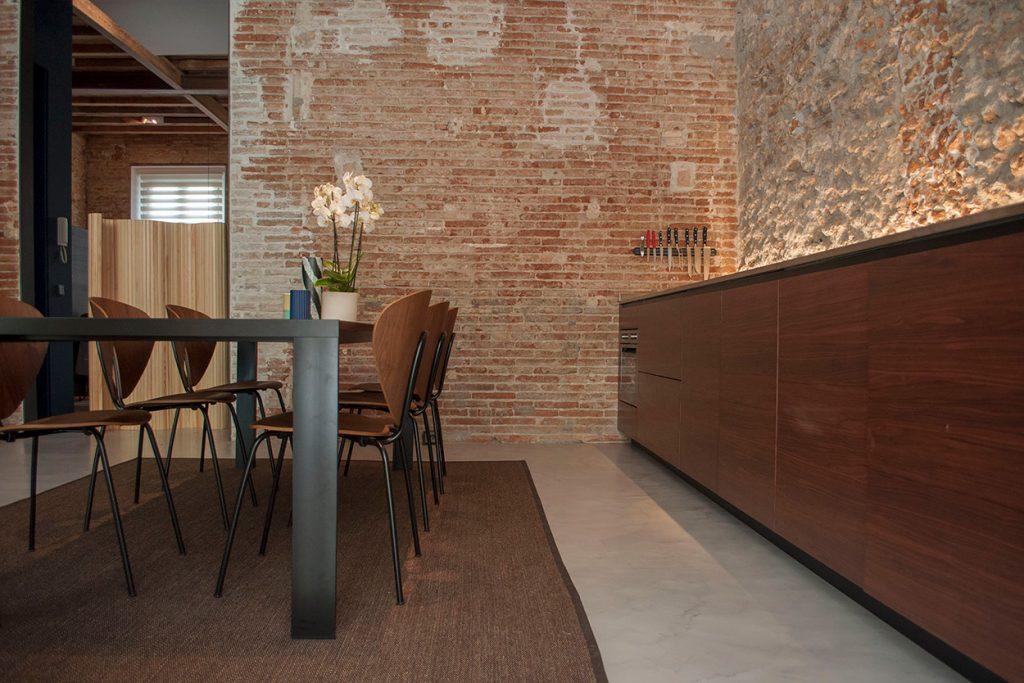 Cocinas de madera modernas