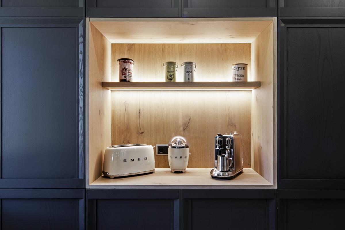 Fábrica de muebles de cocina. Diseño e instalación